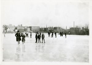 Ice Skating and Hockey on Assabet River