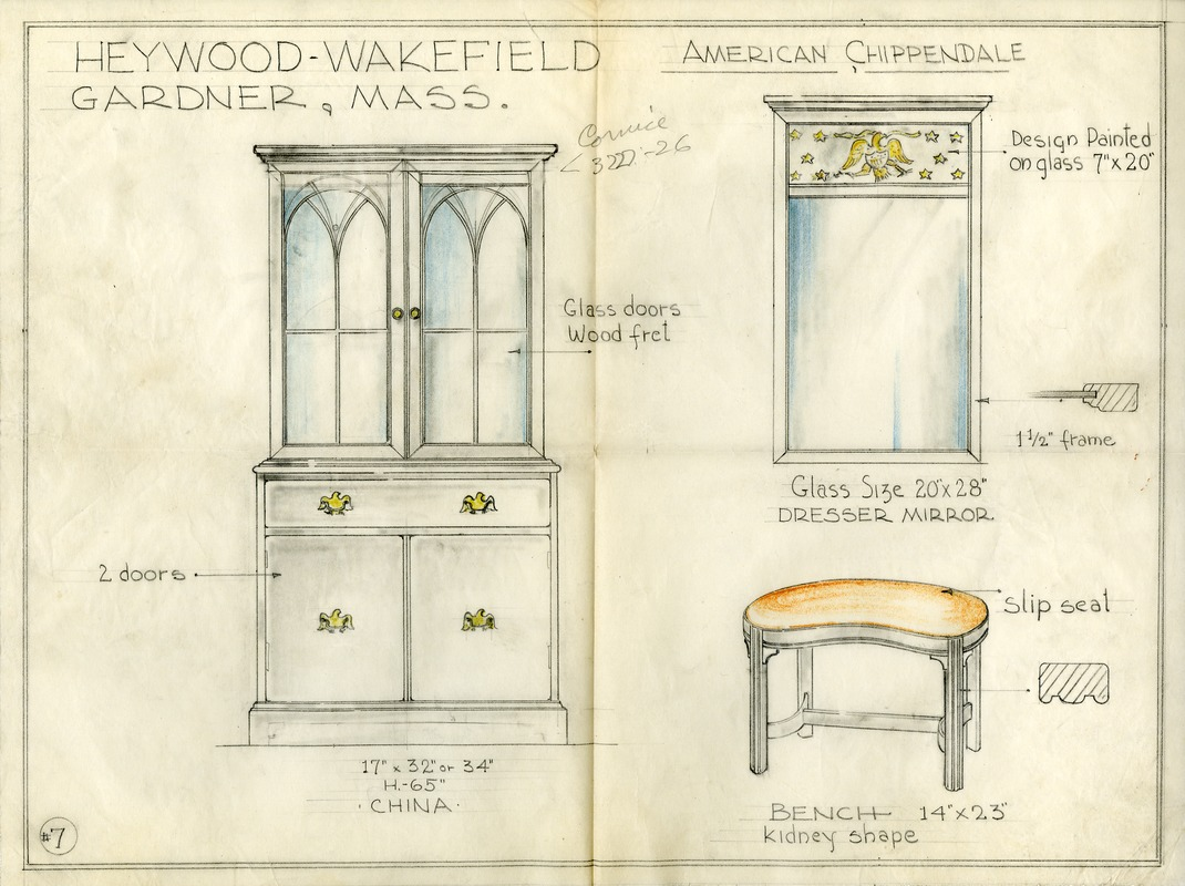 Chippendale Furniture Designs