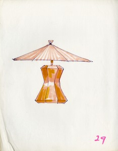 Lamp design drawing