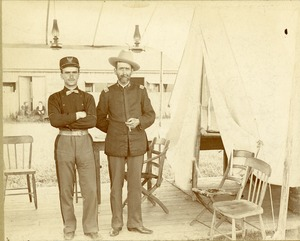 Colonel J.H. Whitney and Lieutenant O.J. Whitney