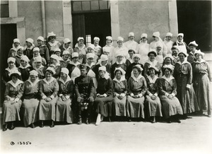 Nurses at Evacuation Hospital #1, Sebastopol, France