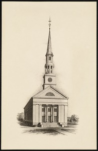 First Parish Unitarian Church (third structure)