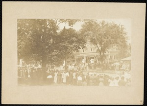 Centennial celebration, 1907 parade