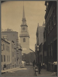 Old North Church on Salem Street, North End