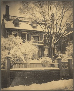 The Hancock Mansion, Beacon Street