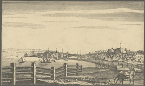 View of the Town of Boston from Breed's Hill in Charlestown