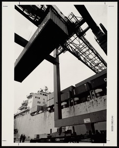 Container vessel, Conley Terminal, South Boston