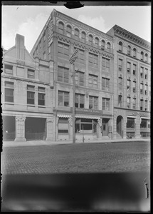 C.L. Hauthaway & Sons leader dressing 346 Congress St.