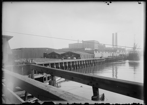 Old Molasses Wharf/sugar refinery Mt. Washington Ave.