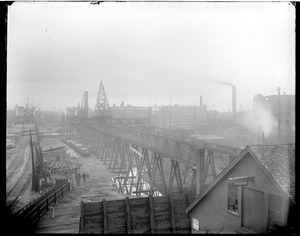 Wharf scene, Ft. Point Channel area