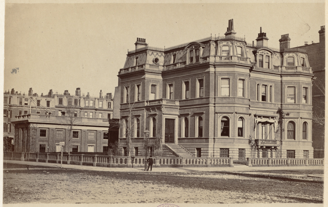 Residence of S. Hooper and T. K. Lothrop