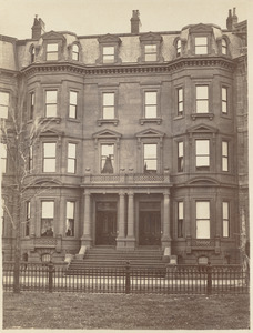 Residence of E. B. Bigelow and T. G. Appleton