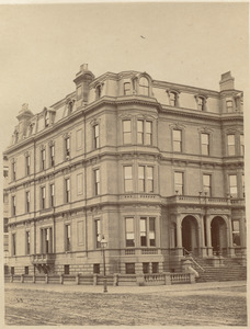 Residence of J. L. Little and Wm. Brown