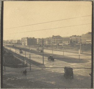 Commonwealth Avenue boulevard from S.W. G's window