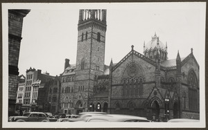 Copley Square, view of new Old South Church