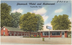 Shamrock Motel and Restaurant, Fayetteville, Tenn.