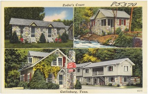 Zoder's Court, Gatlinburg, Tenn.