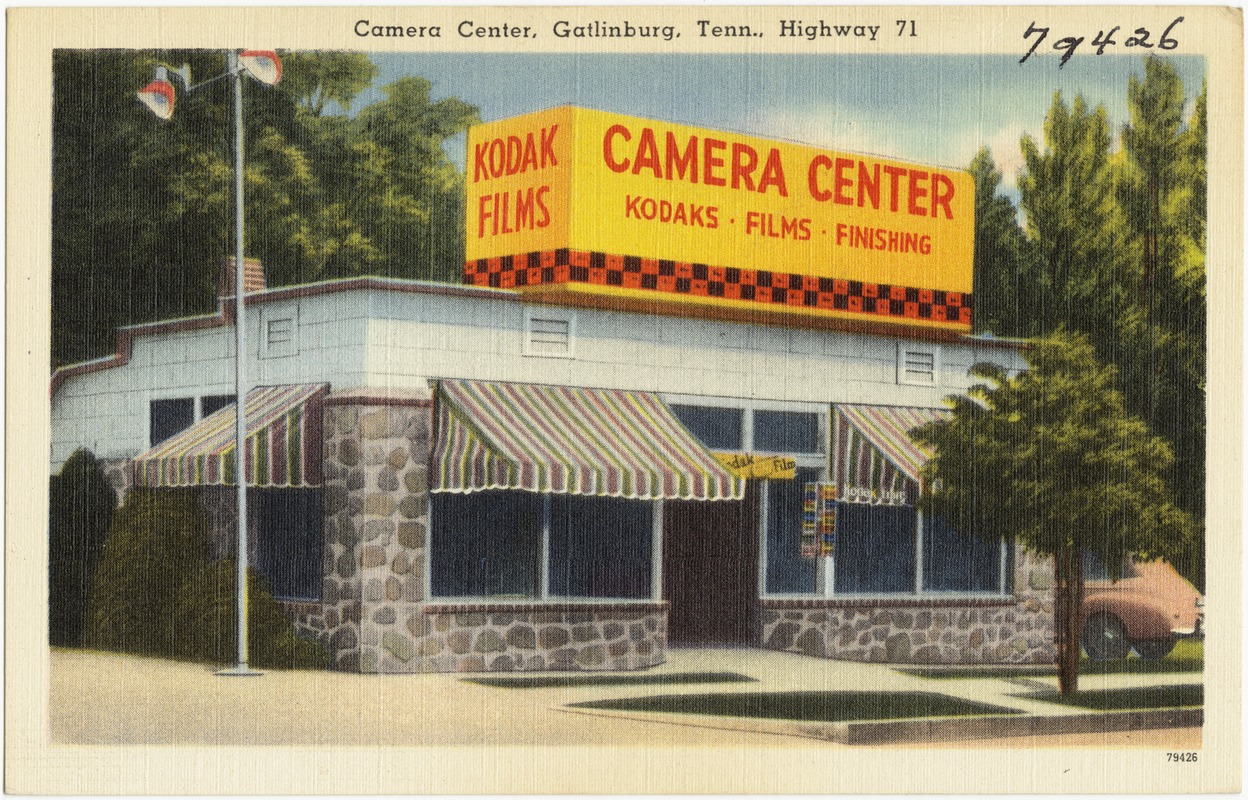 Camera Center, Gatlinburg, Tenn., Highway 71