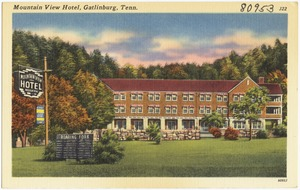 Mountain View Hotel, Gatlinburg, Tenn.