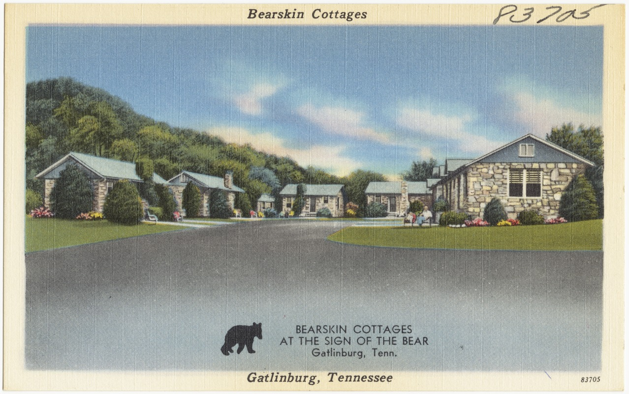 Prime Bearskin Cottages Gatlinburg Tennessee Digital Commonwealth Interior Design Ideas Tzicisoteloinfo