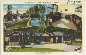 "Conner's ""Waterlure"" Motel, Gatlinburg, Tenn."