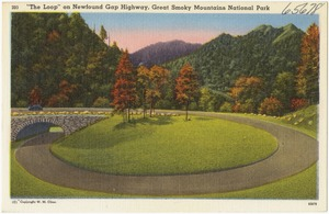 """The Loop"" on Newfound Gap Highway, Great Smoky Mountains National Park"