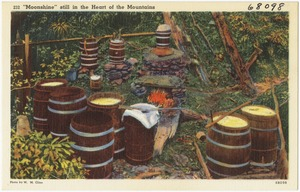 """""""Moonshine"""" still in the heart of the mountain"""