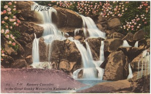 Ramsey Cascades in the Great Smoky Mountains National Park