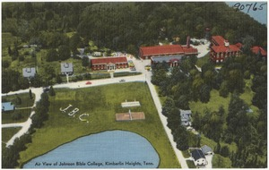 Air view of Johnson Bible College, Kimberlin Heights, Tenn.