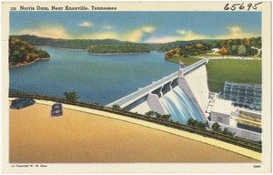 Norris Dam, near Knoxville, Tennessee
