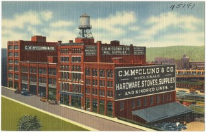 C. M. McClung & Co. -- Wholesale -- Hardware, stove, supplies and kindred lines
