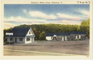 Huskey's Motor Court, Highway 71