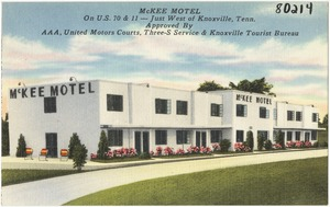 McKee Motel, on U.S. 70 & 11 -- Just west of Knoxville, Tenn.