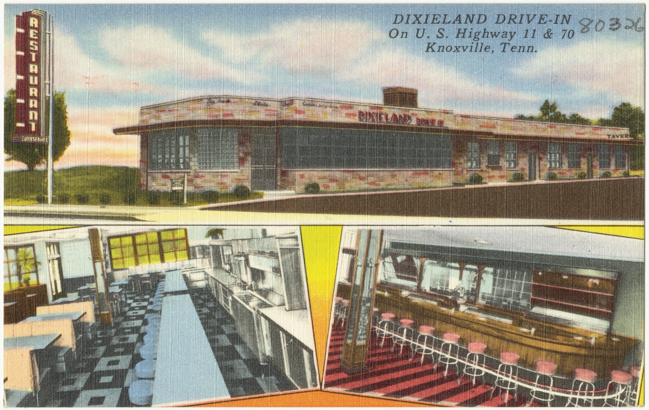 Dixieland Drive-In, on U.S. Highway 11 & 70, Knoxville, Tenn.