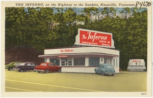 The Inferno, on the Highway to the Smokies, Knoxville, Tennessee