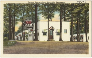 Carter's Tourist Court, Knoxville, Tennessee