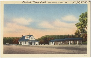 Huskey's Motor Court, State Highway 71 and U.S. 441