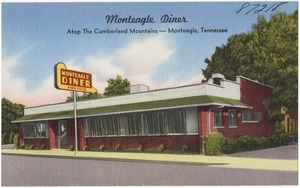 Monteagle Diner, atop the Cumberland Mountains -- Monteagle, Tennessee
