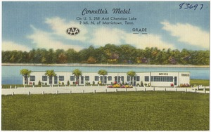 Cornette's Motel, on U.S. 25E and Cherokee Lake, 2 mi. N. of Morristown, Tenn.