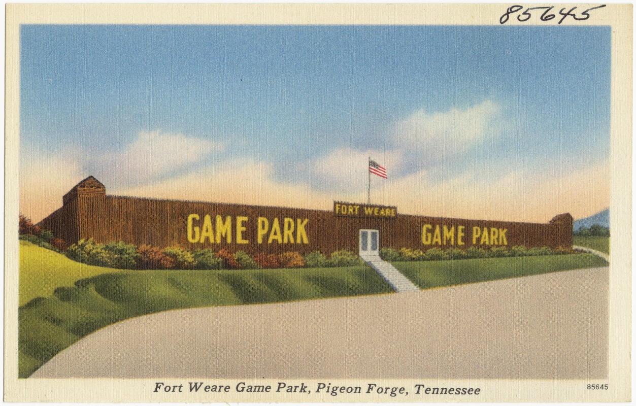 Fort Weare Game Park, Pigeon Forge, Tennessee
