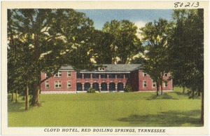 Cloyd Hotel, Red Boiling Springs, Tennessee