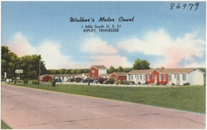 Walker's Motor Court, 1 mile south U.S. 51, Ripley, Tennessee