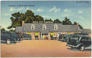 Entrance to Rock City Gardens