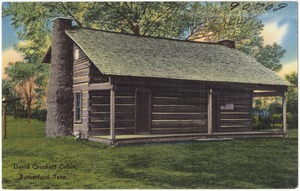 David Crockett Cabin, Rutherford, Tenn.