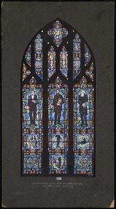 3, the missionary bishops window in the east wall of north transept gallery, Wesley Methodist Church, Worcestor, Mass.