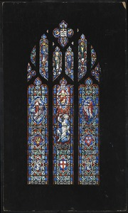 3. St, Paul. Clerestory window. The grace of the Lord Jesus Christ be with you.