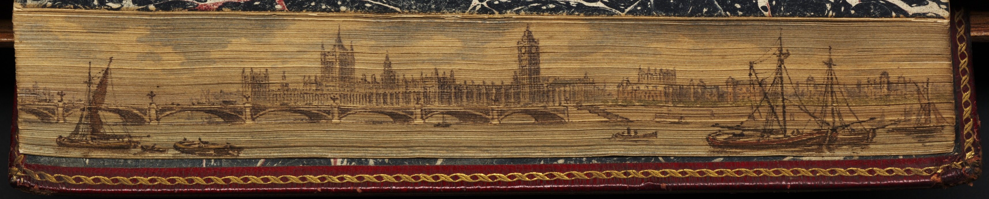 Houses of Parliament and Westminster Bridge