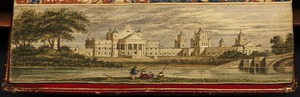 View of Blenheim House, Oxfordshire