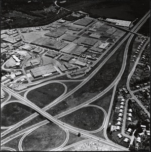 Aerial view of New England Industrial Center, Needham