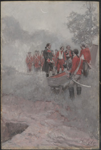 The burial of Braddock